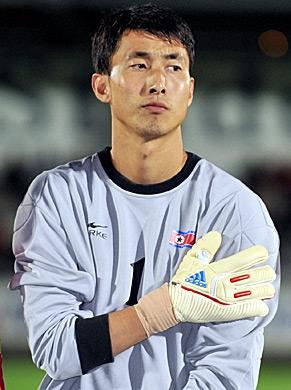 North Korea Goalkeeper