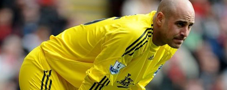 Reina To Stay With Liverpool